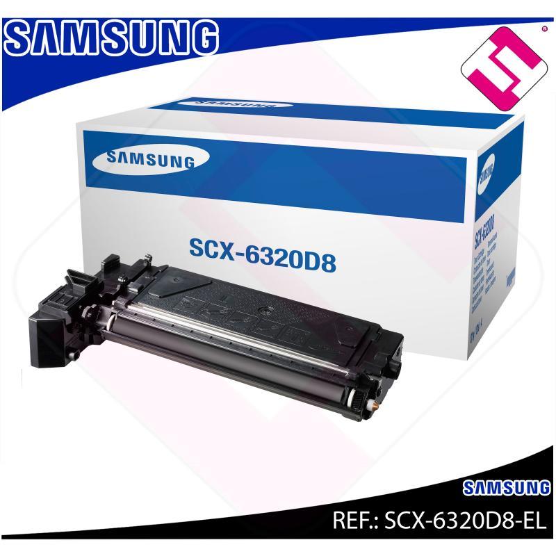 SAMSUNG TONER LASER NEGRO 8.000 PAGINAS SCX-/6320/6322DN/612