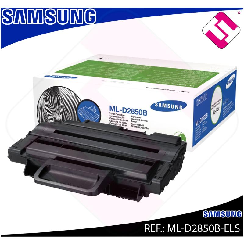 SAMSUNG TONER LASER NEGRO 5.000 PAGINAS ML/2850D/2851ND/2850
