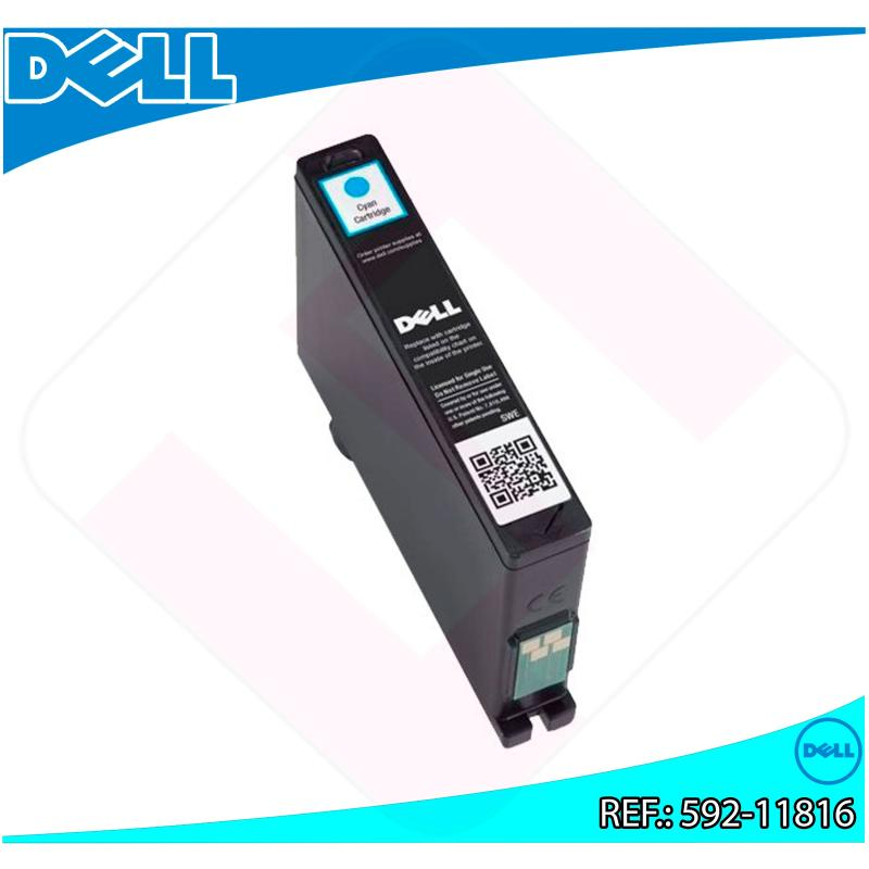 DELL CARTUCHO INYECCION TINTA CIAN N06MK 430ML AIO V/525W/72