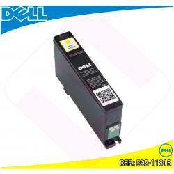 DELL CARTUCHO INYECCION TINTA AMARILLO 9FRX5 430ML AIO V/525