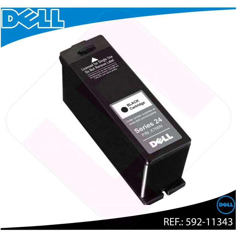 DELL CARTUCHO INYECCION TINTA NEGRO T109N 500ML P/713W V/715
