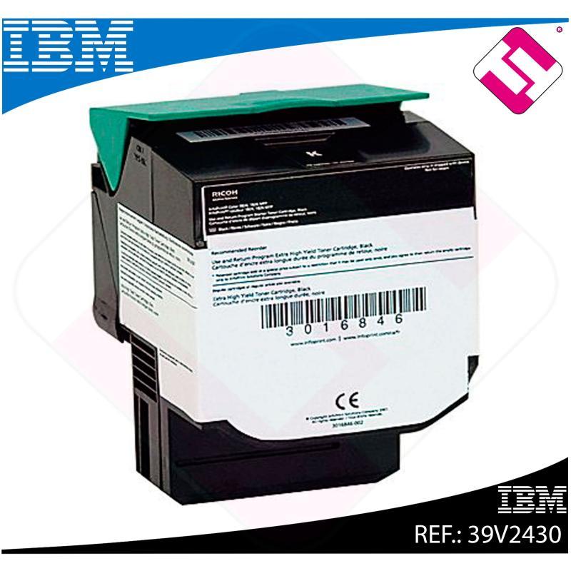 IBM TONER LASER NEGRO 6.000 PAGINAS RETORNABLE INFOPRINT COL