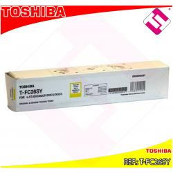 TOSHIBA TONER LASER AMARILLO E-STUDIO/222CS 6000 COPIAS