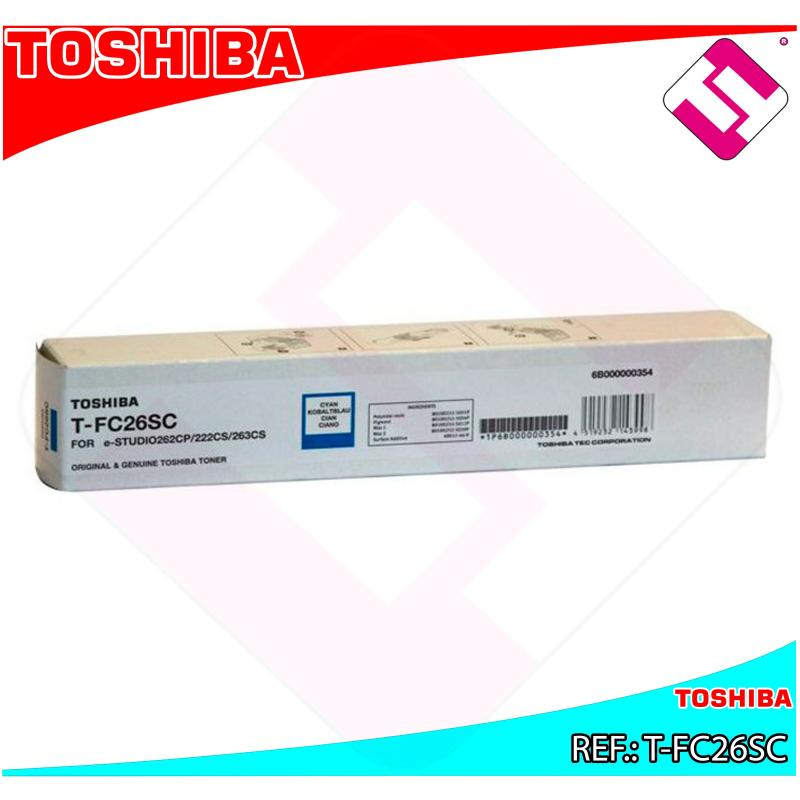 TOSHIBA TONER LASER CIAN E-STUDIO/222CS 6000 PAGINAS