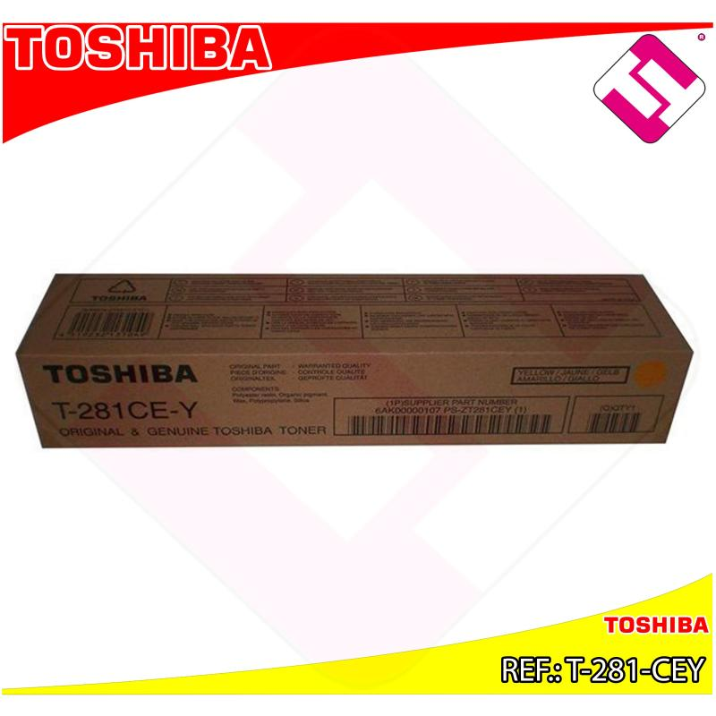 TOSHIBA TONER LASER AMARILLO 10.000 PGINAS E-STUDIO/281C/35