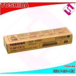 TOSHIBA TONER LASER CIAN 10.000 P GINAS E-STUDIO/281C/351E/4