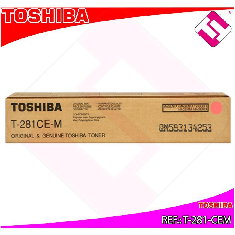 TOSHIBA TONER LASER MAGENTA 10.000 PGINAS E-STUDIO/351E/451
