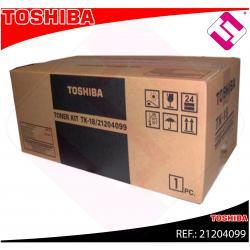 TOSHIBA TONER LASER TK 18 6.000 PAGINAS DP/80/85