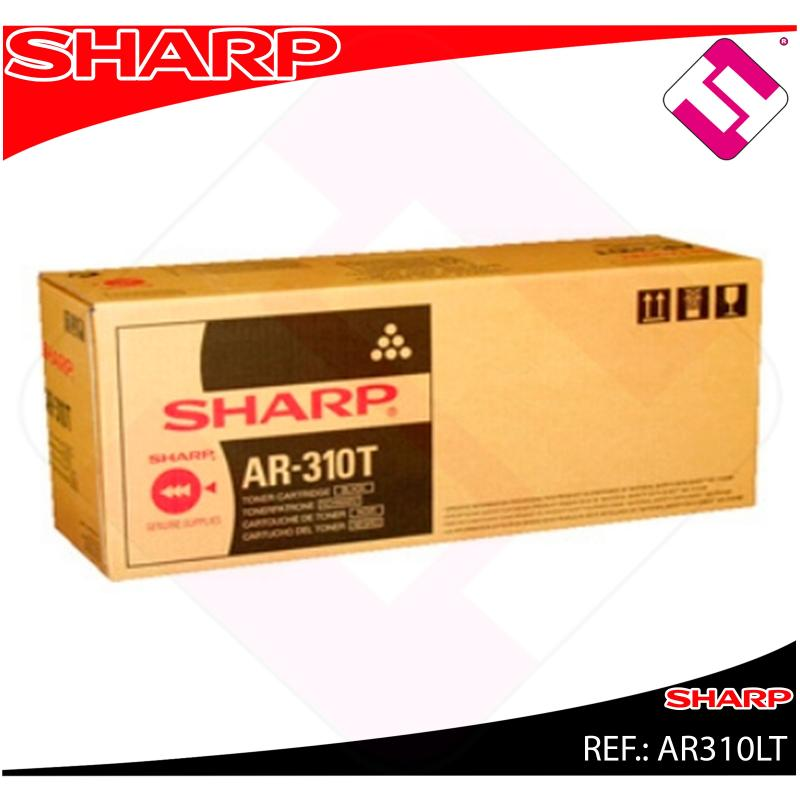 SHARP TONER LASER NEGRO ARM256/316 25.000 COPIAS