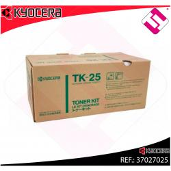 KYOCERA-MITA TONER LASER NEGRO TK25 6.000 PAGINAS FS/1200
