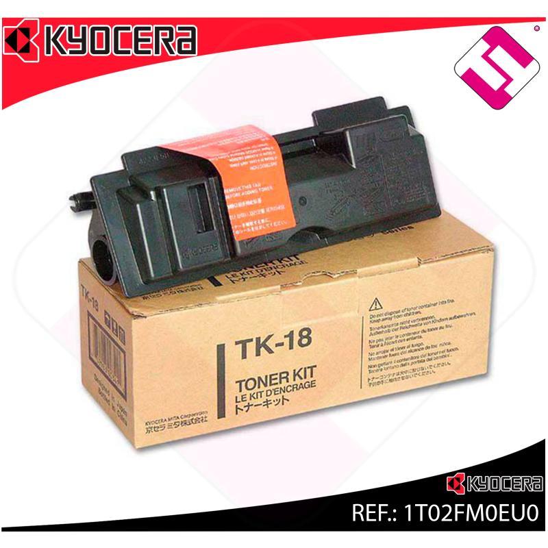 KYOCERA-MITA TONER LASER NEGRO TK18 7.200 PAGINAS FS/1018/11