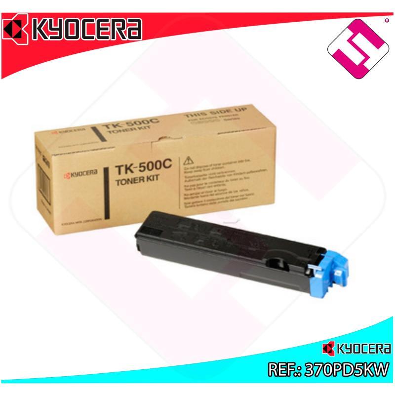 KYOCERA-MITA TONER LASER CIAN TK500C 8.000 PAGINAS FS/5016N