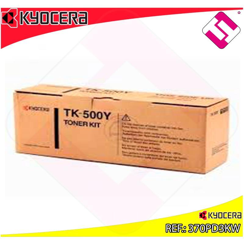 KYOCERA-MITA TONER LASER AMARILLO TK500Y 8.000 PAGINAS FSC/5