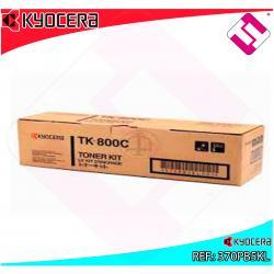 KYOCERA-MITA TONER LASER CIAN TK800C 10.000 PAGINAS FSC/8008