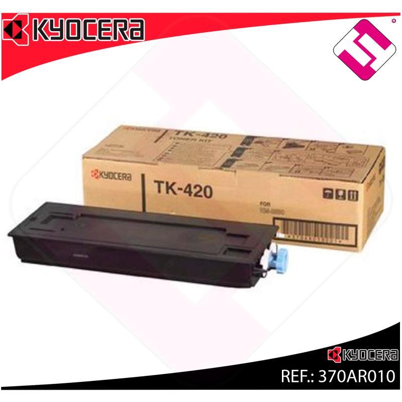 KYOCERA-MITA TONER COPIADORA NEGRO TK420 15.000 PAGINAS KM/2