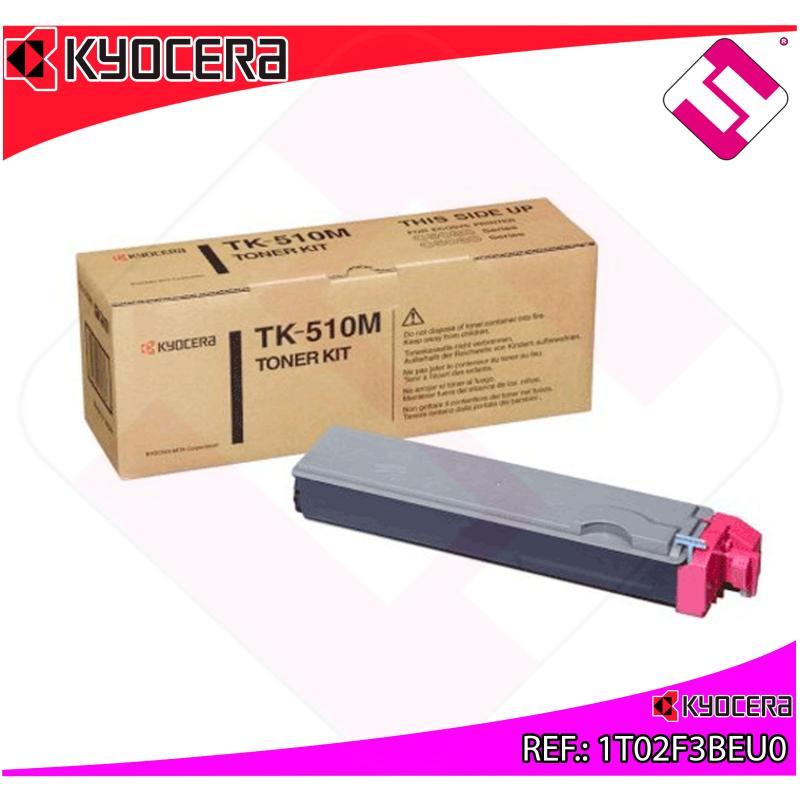 KYOCERA-MITA TONER LASER MAGENTA TK510M 8.000 PAGINAS FS-C/5