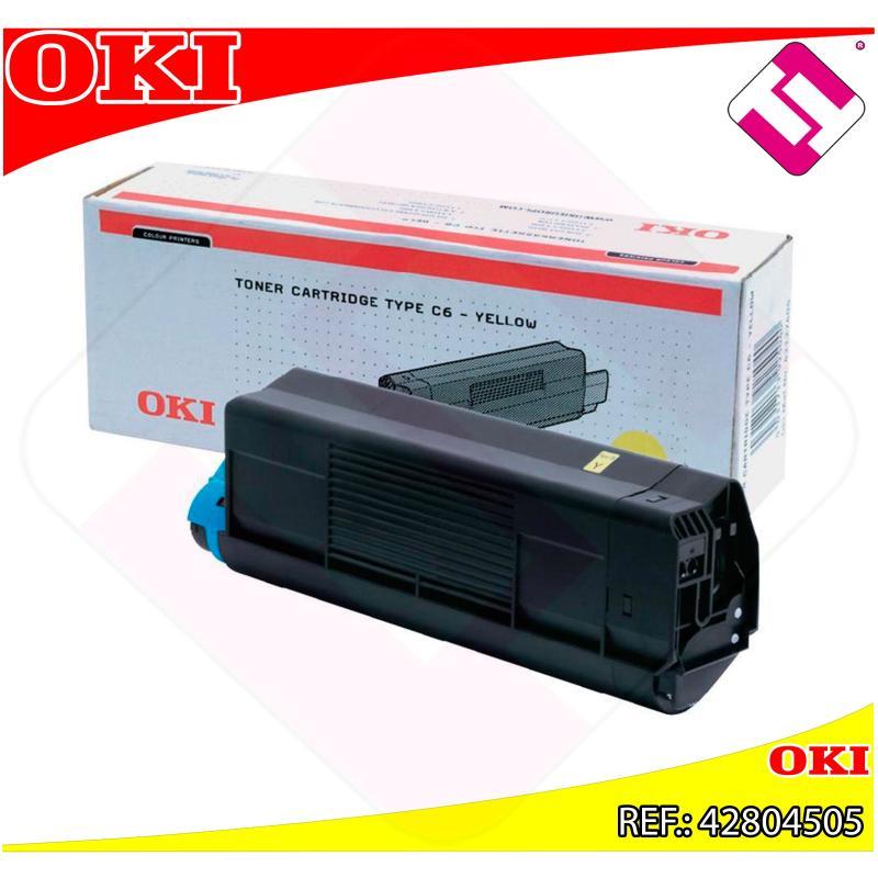 OKI TONER LASER AMARILLO 3.000 PAGINAS C/5200/5400