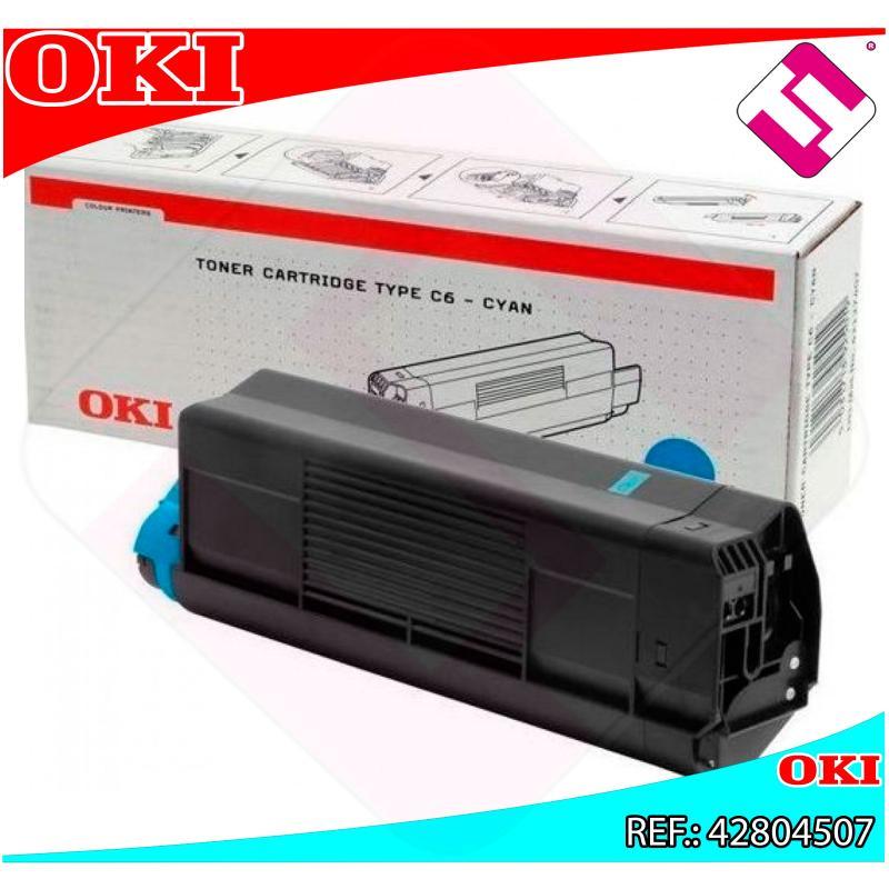 OKI TONER LASER CIAN 3.000 PAGINAS C/5200/5400