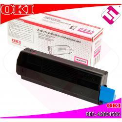 OKI TONER LASER MAGENTA 3.000 PAGINAS C/5200/5400