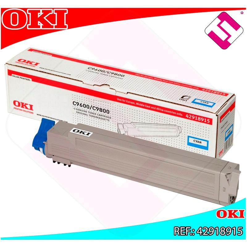 OKI TONER LASER CIAN C7 15.000 PAGINAS C/9600/9650/9800/9850