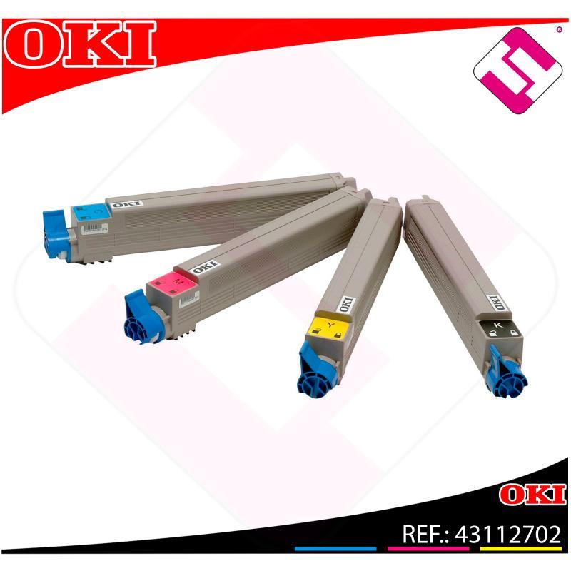 OKI TONER LASER RAINBOW PACK C7 15.000 PAGINAS C/9600/9650/9