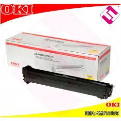 OKI TAMBOR LASER AMARILLO C7 30.000 PAGINAS C/9600/9650/9800