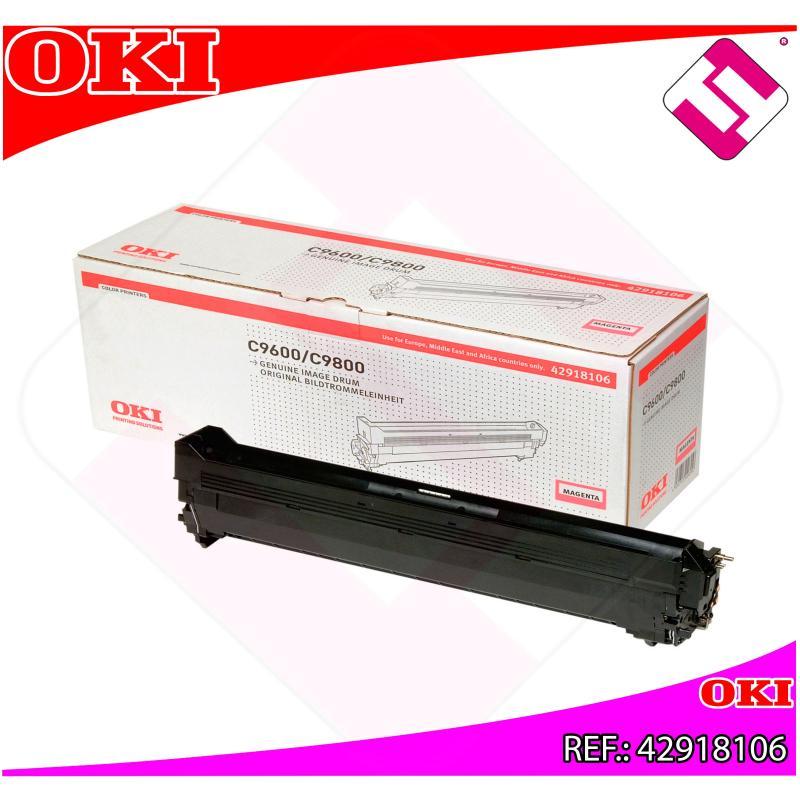 OKI TAMBOR LASER MAGENTA C7 30.000 PAGINAS C/9600/9650/9800/