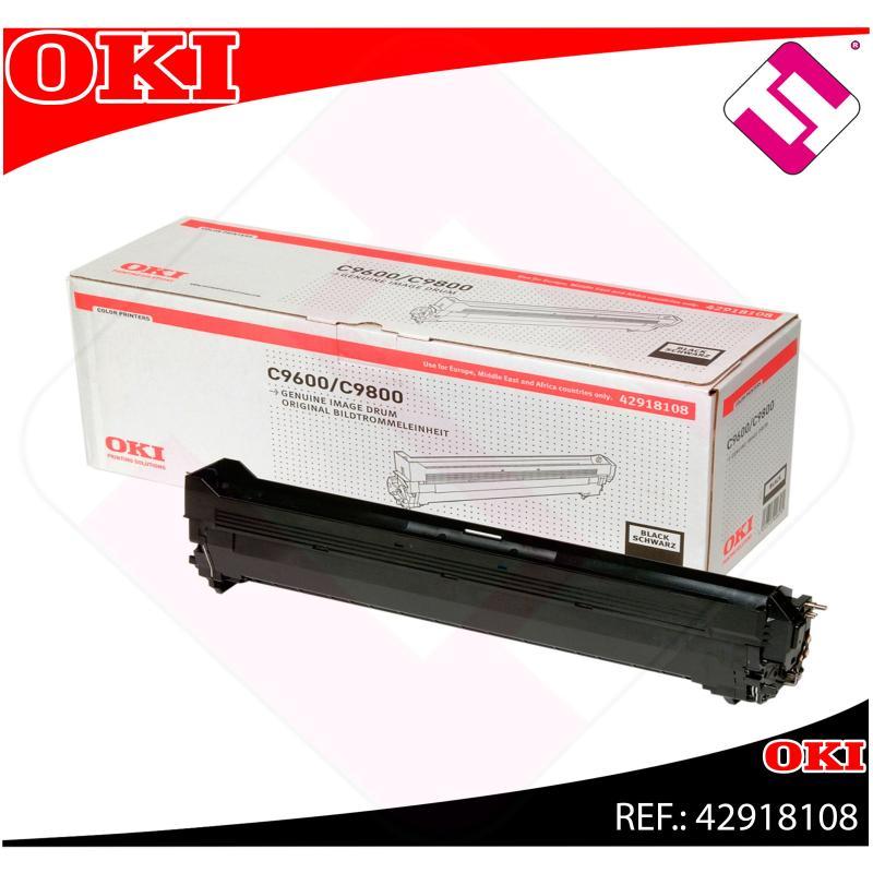 OKI TAMBOR LASER NEGRO 30.000 PAGINAS C/9600/9650/9800/9850