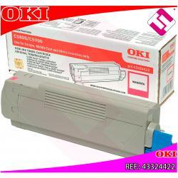 OKI TONER LASER MAGENTA 5.000 PAGINAS C/5800/5900/5550MFP