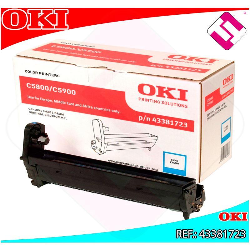 OKI TAMBOR LASER CIAN 20.000 PAGINAS C/5800/5900/5550