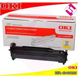 OKI TAMBOR LASER AMARILLO TIPO C9 15.000 PAGINAS C/3300/3400