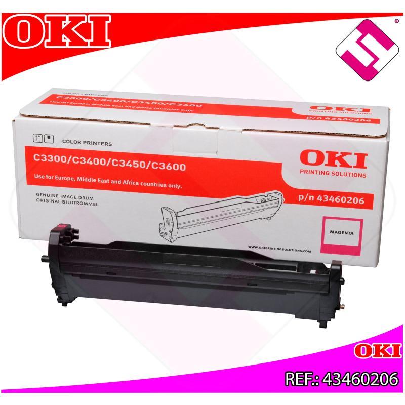 OKI TAMBOR LASER MAGENTA TIPO C9 15.000 PAGINAS C/3300/3400/