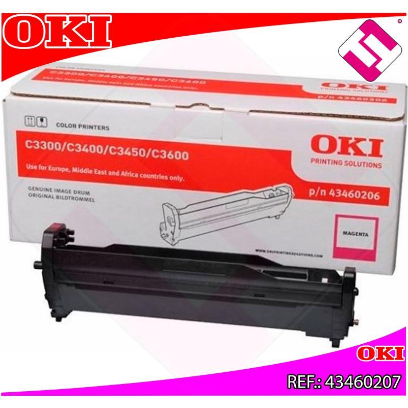 OKI TAMBOR LASER CIAN TIPO C9 15.000 PAGINAS C/3300/3400/345