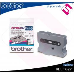 BROTHER CINTA ROTULADORA LAMINADA BLANCO/NEGRO 15M 24MM/P-TO