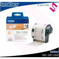 BROTHER ETIQUETA PRECORTADA PAPEL 29X62MM 800 ETIQUETAS QL-/