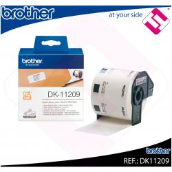 BROTHER ETIQUETA PRECORTADA PAPEL 29X62MM 800 ETIQUETAS QL-/