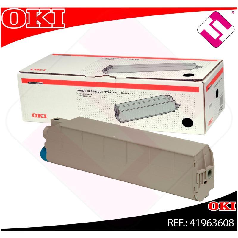 OKI TONER LASER NEGRO 15.000 PAGINAS C/9300/9500EXTINGUIR