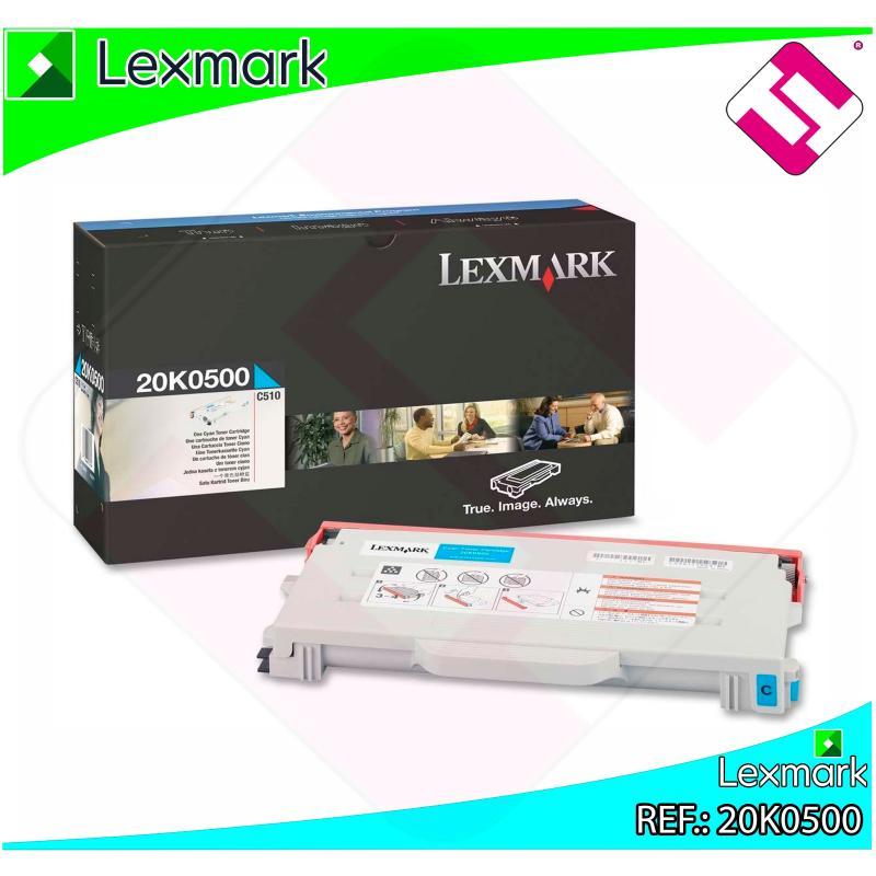 LEXMARK TONER LASER CIAN 3.200 PGINAS C/510