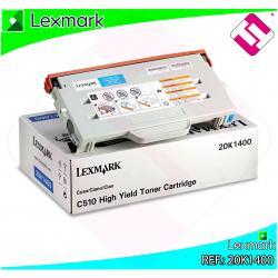 LEXMARK TONER LASER CIAN 6.600 PAGINAS LEXMARK C/510