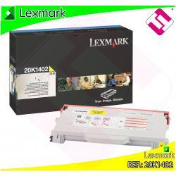 LEXMARK TONER LASER AMARILLO 6.600 PAGINAS LEXMARK C/510