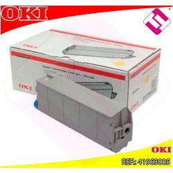 OKI TONER AMARILLO 10.000 P GINAS C/7100/7300/7350/750EXTINGU