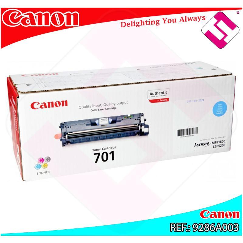 CANON TONER LASER CIAN CRG701C 4.000 PAGINAS LBP/5200 MF/818