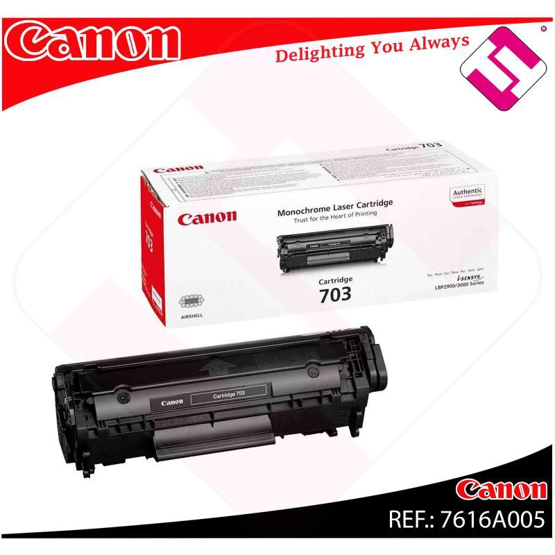 CANON TONER LASER NEGRO CRG703 2.000 PAGINAS LBP/2900/3000