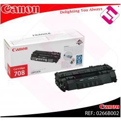CANON TONER LASER NEGRO CRG708 2.500 PAGINAS LBP/3300/3360