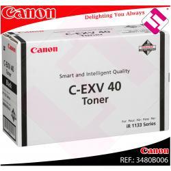 CANON TONER LASER NEGRO C-EXV40 IR/1133