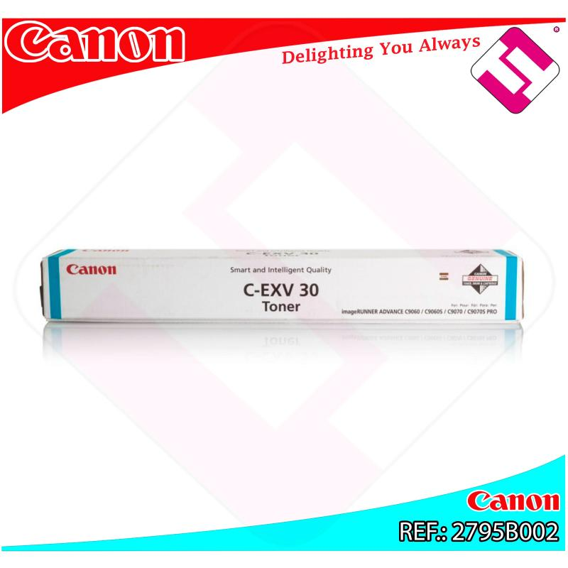 CANON TONER CEXV30 CYAN 54K IR C6065.C9070.C9075
