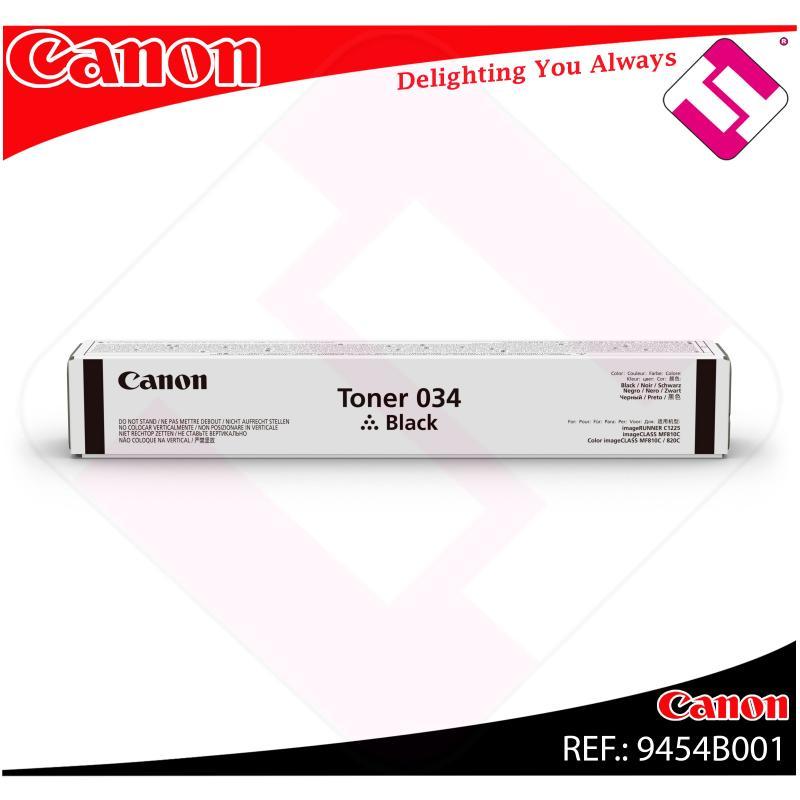 CANON TONER NEGRO 034BK 12000 PAGINAS