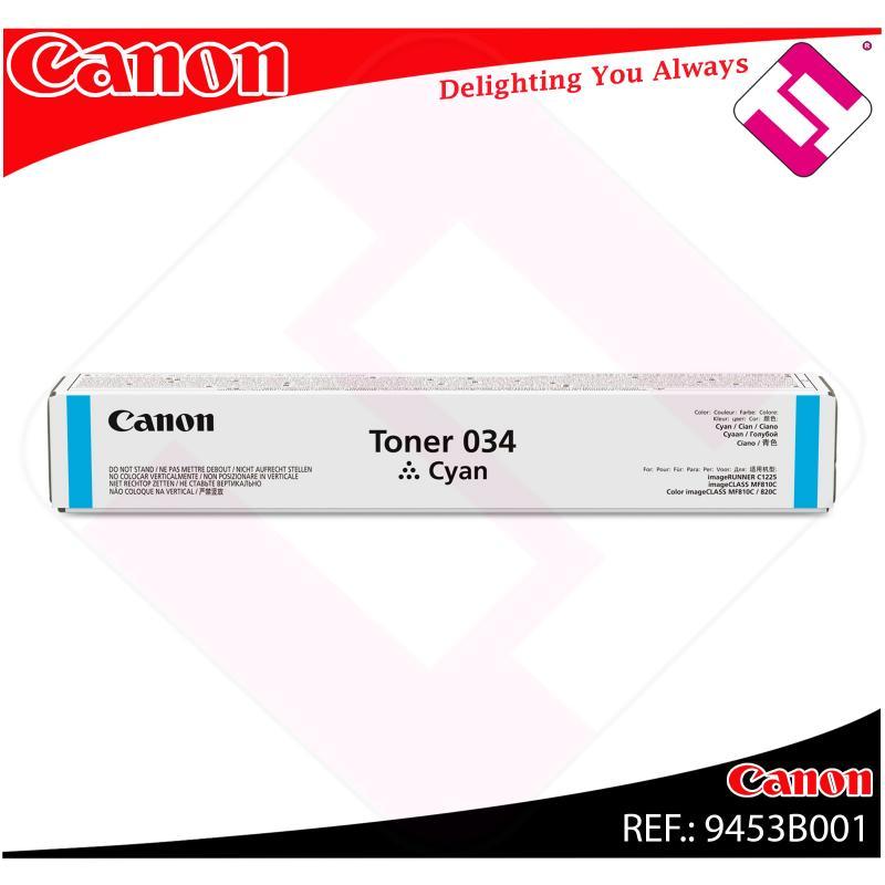 CANON TONER CIAN 034C 7300 PAGINAS
