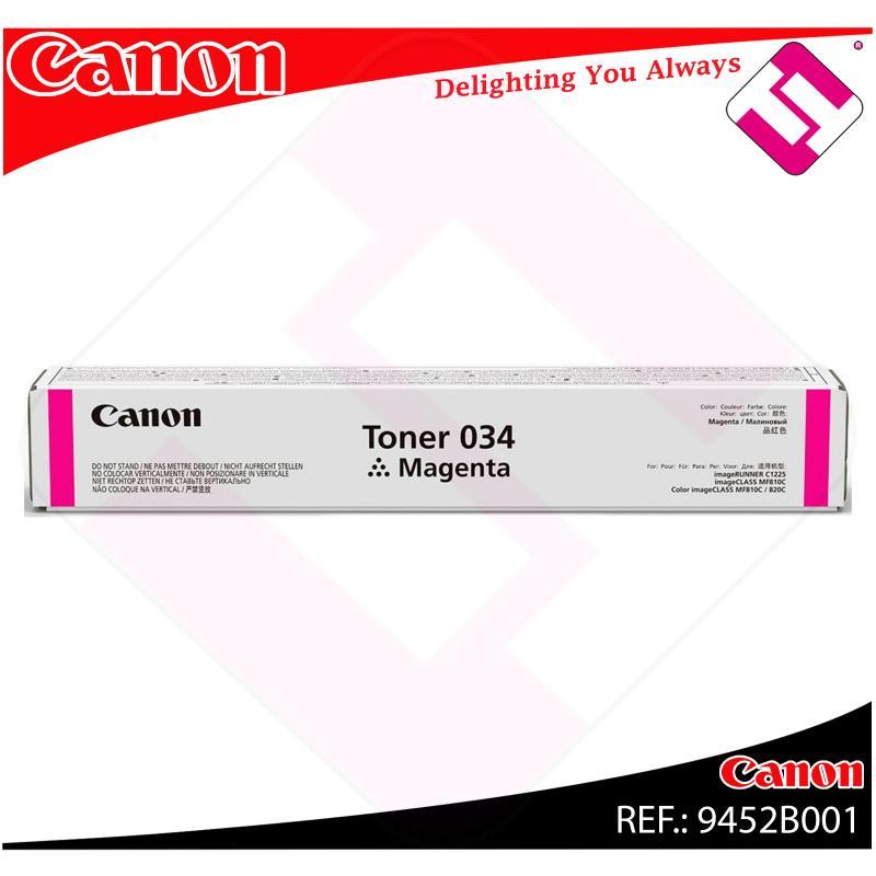 CANON TONER MAGENTA 034M 7300 PAGINAS