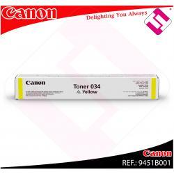CANON TONER AMARILLO 034Y 7300 PAGINAS